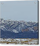 Sleeping Ute Mountain Acrylic Print