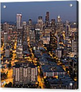 Sleepless In Seattle Acrylic Print