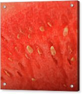 Slice Of Watermelon (detail) Acrylic Print