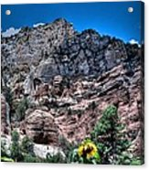 Slide Rock Canyon Acrylic Print