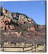 Slide Rock Acrylic Print