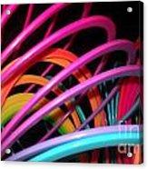 Slinky Craze 2 Acrylic Print