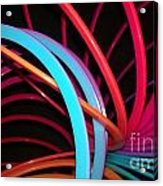 Slinky Craze 3 Acrylic Print