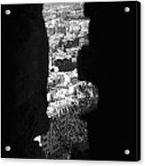 Sliver Rock Acrylic Print