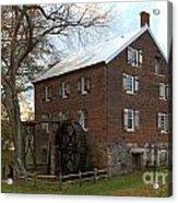 Sloan Park Grist Mill Acrylic Print