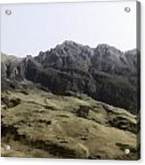 Slope Of Hills In The Scottish Highlands Acrylic Print