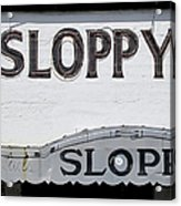 Sloppy Joes Key West Acrylic Print