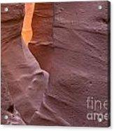 Slot In Palo Duro Canyon 110213.50 Acrylic Print