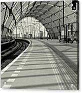 Sloterdijk Station In Amsterdam Acrylic Print