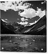 Slough Lake 5 Bw Acrylic Print