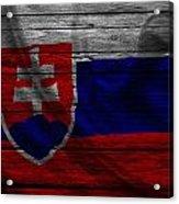 Slovakia Acrylic Print