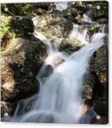 Slow Shutter Waterfall Scotland Acrylic Print