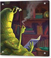 Sluggo's Scary Book   Acrylic Print