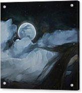 Slumberland Acrylic Print by Hazel Billingsley
