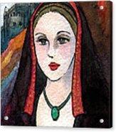 Sm009 Joanna The Mad Acrylic Print