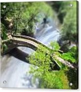 Small Bridge  Acrylic Print