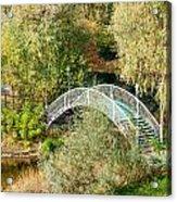 Small Bridge In The Park Acrylic Print