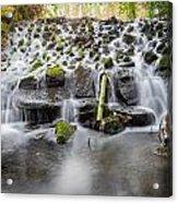 Small Cascade In Marlay Park Acrylic Print
