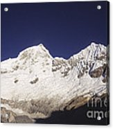 Small Climber Big Peaks Acrylic Print