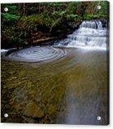 Small Falls Pool Swirl I Acrylic Print