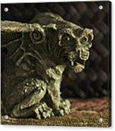 Small Gargoyle Or Grotesque Acrylic Print