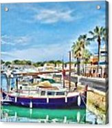 Small Marina Acrylic Print
