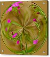 Small Pink Buds Acrylic Print