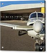 Small Planes In Private Airport Acrylic Print