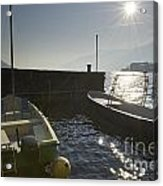Small Port In Backlight Acrylic Print