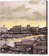 Small-port Santander Acrylic Print