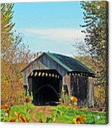Small Private Country Bridge Acrylic Print