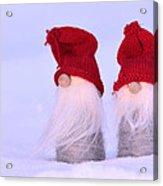 Small Santa Claus Acrylic Print