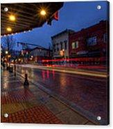 Small Town Ohio Christmas Acrylic Print