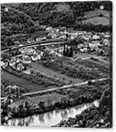 Small Village Acrylic Print