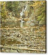 Smalls Falls In Autumn Western Maine Acrylic Print