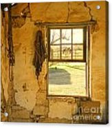 Smell Of Hay Acrylic Print
