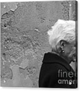 Smile Does Not Age Acrylic Print