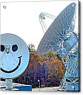 Smiley And 26 West Antennas Acrylic Print