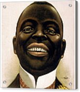 Smiling African American Circa 1900 Acrylic Print