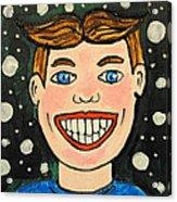 Smiling Boy Acrylic Print
