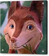 Smiling Fox Acrylic Print