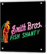 Smith Bros. Fish Shanty Acrylic Print