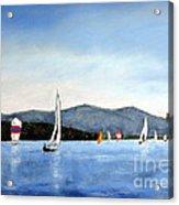 Smith Mountain Lake Regatta #4 Acrylic Print