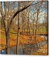 Smith River Virginia Acrylic Print