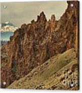 Smith Rock And Cascades Acrylic Print