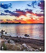 Smithville Lake Sunset Acrylic Print