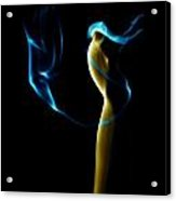 Smoke 2 - Solitude Standing Acrylic Print by Mark Fuller