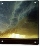 Smoke And The Supercell Acrylic Print