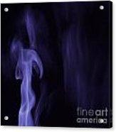 Smoke Art Acrylic Print