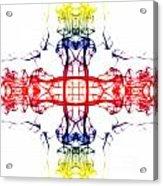 Smoke Cross 4 Acrylic Print